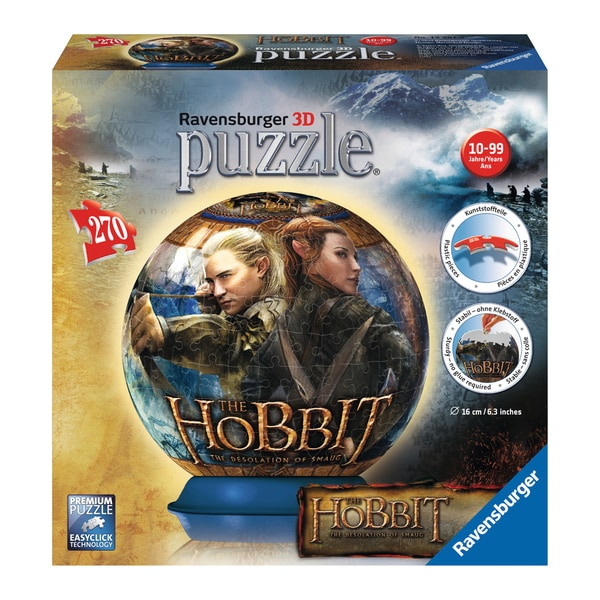 3D Puzzle - The Hobbit: The Desolation of Smaug: 270 Pcs