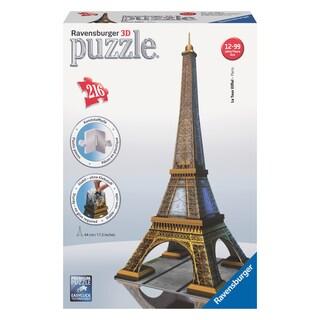 3D Puzzle - Eiffel Tower: 216 Pcs