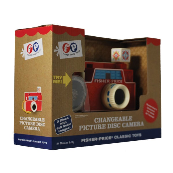 Fisher-Price Classics Changeable Picture Disc Camera