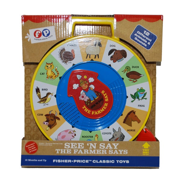 Fisher-Price Classics See 'N Say The Farmer Says