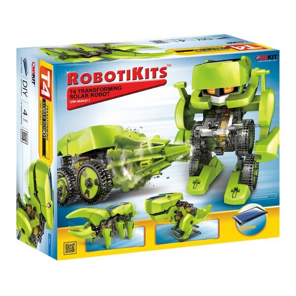 OWI Robotikits - T4 Transforming Solar Robot