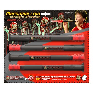 Marshmallow Zombie Straight Shooter 4-pack