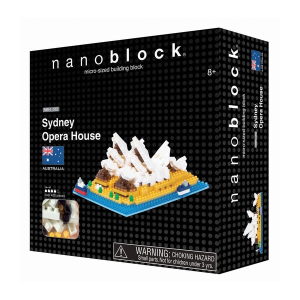 nanoblock Sites to See Level 4 - Sydney Opera House: 430 Pcs