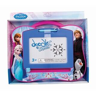 Disney Frozen Travel Doodle Sketch