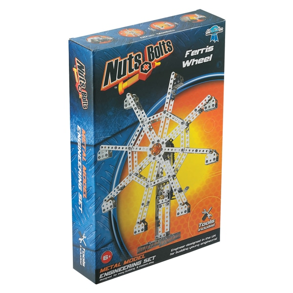Nuts+Bolts - Metal Model Engineering Set: Ferris Wheel