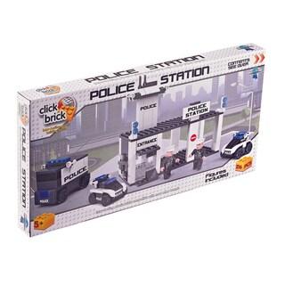 Click Brick - Police Station: 216 Pcs