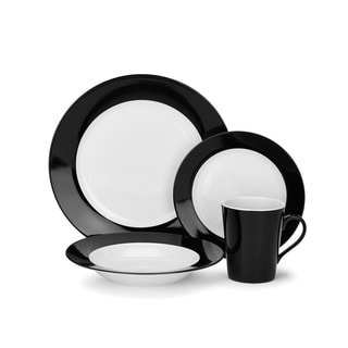 Reynes Collection Porcelain 16-Piece Dinnerware Set