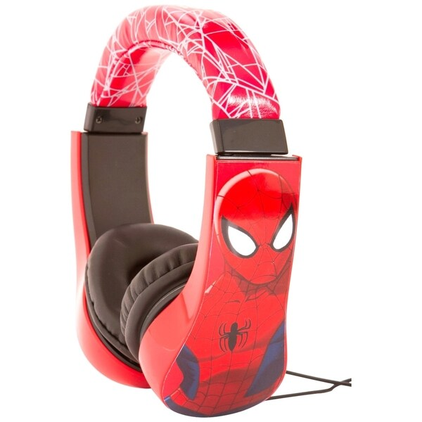 Sakar Spiderman Kids Friendly Headphones