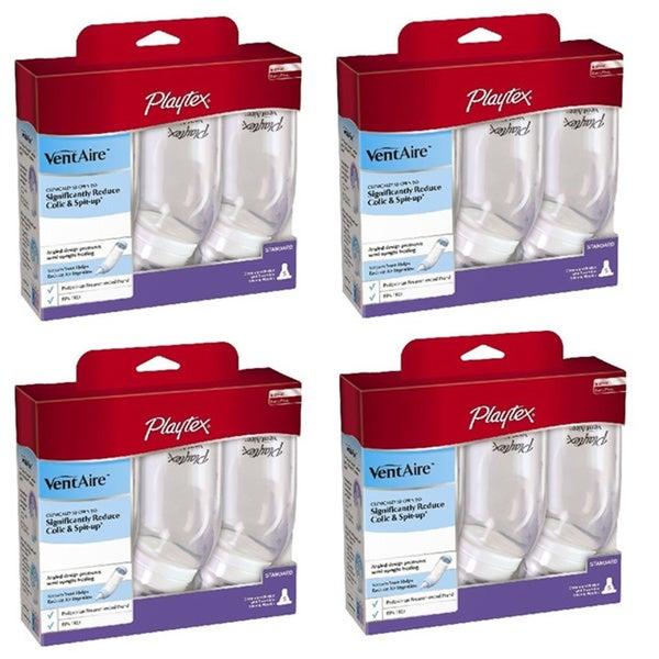 Playtex VentAire Slow Flow Standard Bottles (Pack of 4)