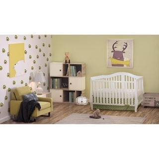 Mikaila Noble 4-in-1 Convertible Crib in White