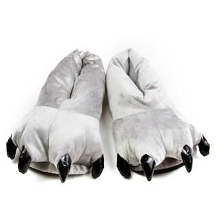 Leisureland Animal Bear Paw Slippers