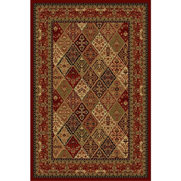 Cosmic Red Area Rug (8' x 11')