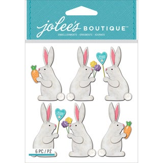 Jolee's Boutique Dimensional Stickers-Easter Bunnies