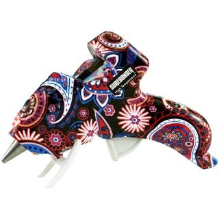 High-Temp Mini Glue Gun W/Safety Fuse 10 Watt-Multicolor Paisley