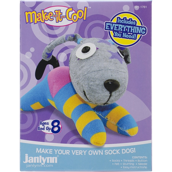 Duke The Dog Sock Animal Kit