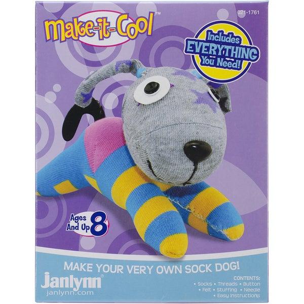 Duke The Dog Sock Animal Kit
