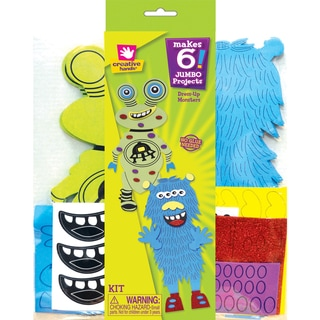 Foam Dress Up Kit Makes 6-Monster