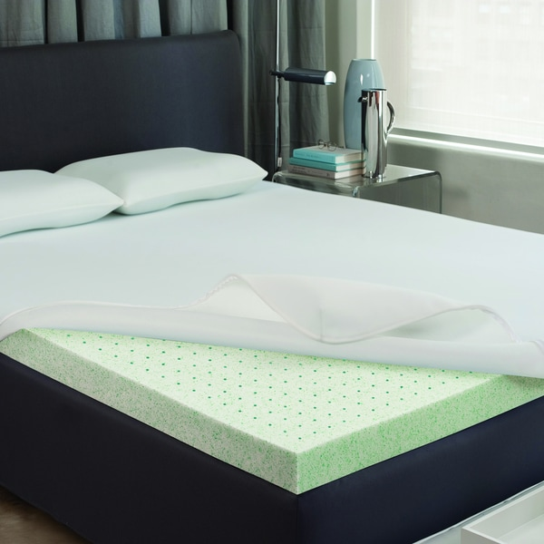 Dream Form Phase Change Gel 2-inch Memory Foam Mattress Topper