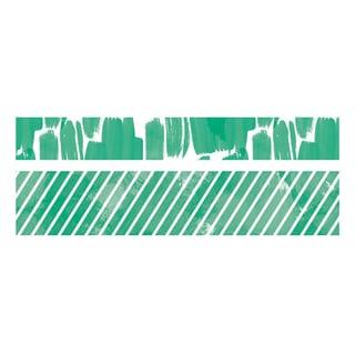 We R Watercolor Washi Tape 2/Pkg-Clover