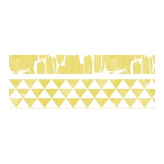 We R Watercolor Washi Tape 2/Pkg-Dandelion