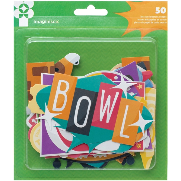 Family Fun Cardstock Die-Cuts 50/Pkg-Icon Shapes