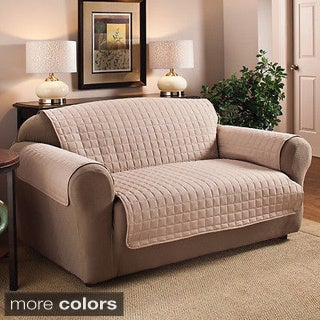 Quilted Microfiber Water Repelant Sofa Protector
