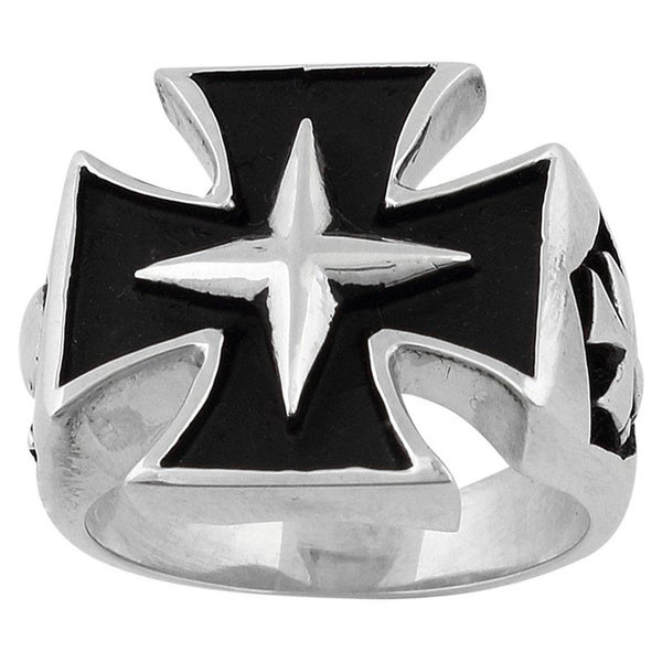 Sterling Silver Four Pointed StarRing