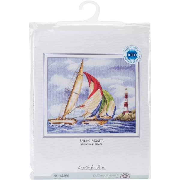Sailing Regatta Counted Cross Stitch Kit (14 Count)