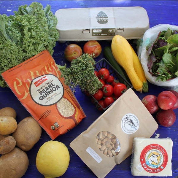 Out of the Box Collective Small Couples Real Food Vegetarian Box (Local Delivery)