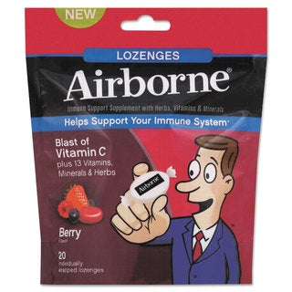 Airborne Immune Support Cherry Lozenges (20 Count)