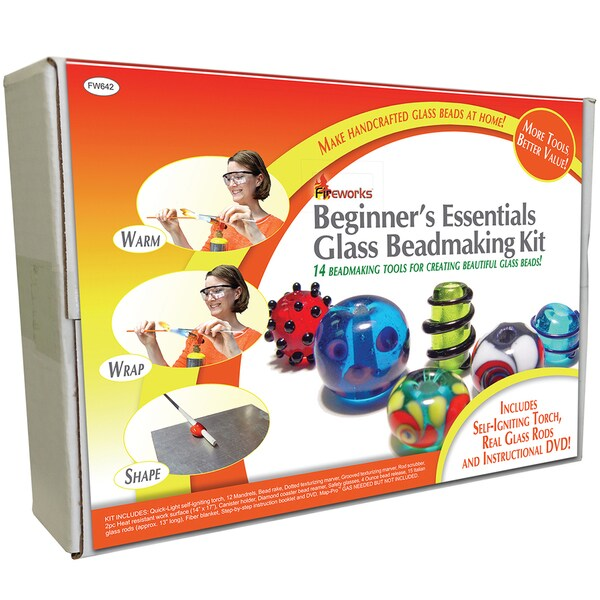 Fireworks Beginner's Essentials Glass Bead Making Kit 14427578