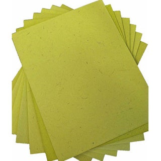 Elephant Dung Paper-Light Green (25pcs) (Sri Lanka)