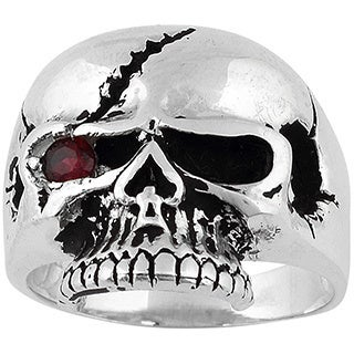 Sterling Silver Scarface Bandit Skull Ring
