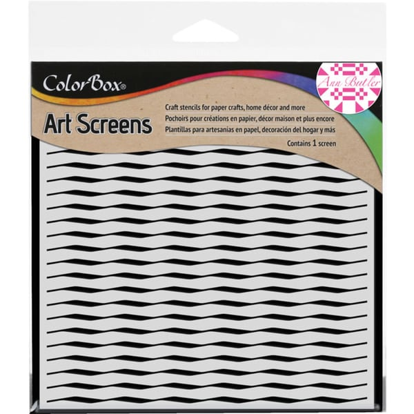 "ColorBox Screens 6""X6""-Wave"