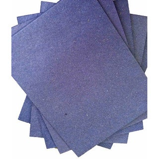 ELEPHANT DUNG PAPER (25pc) - DARK BLUE (Sri Lanka)