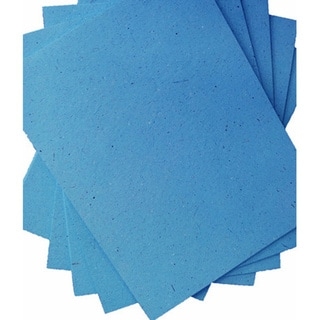 ELEPHANT DUNG PAPER (25pc) - ROBINS EGG BLUE