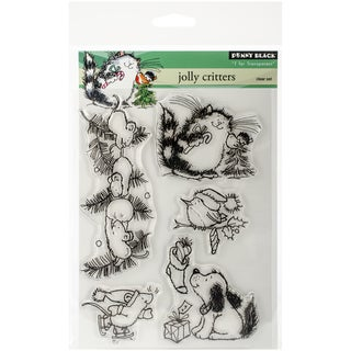 "Penny Black Clear Stamps 5""X7.5"" Sheet-Jolly Critters"