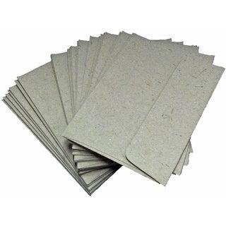 Handmade Elephant Poo Paper A6 Natural Kraft Envelopes (25pcs)