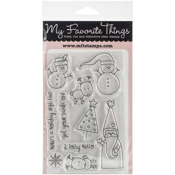 "My Favorite Things Miss Tiina Stamps 4""X6"" Sheet-Christmas Cuteness"
