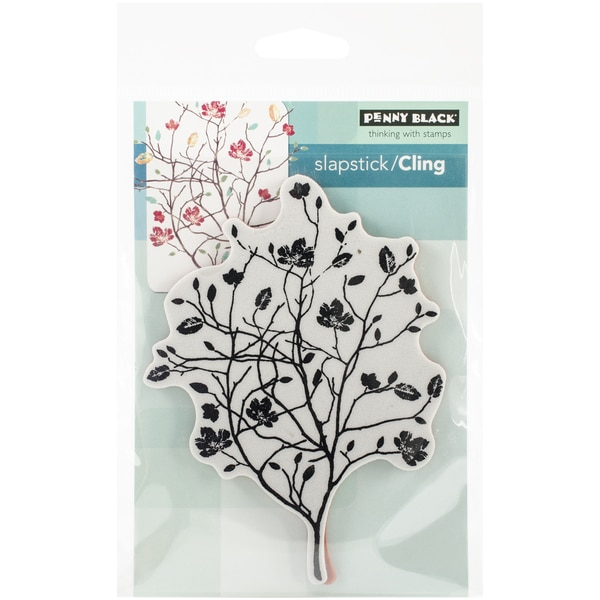 """Penny Black Cling Rubber Stamp 3.5""""X4.75"""" Sheet-A Day In Autumn"""