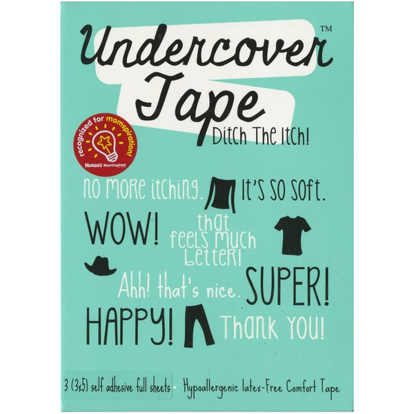 "Undercover Tape 3""X5"" 3/Pkg-Sports Navy Blue"
