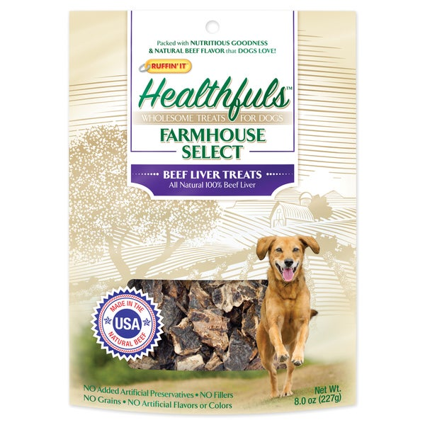 Healthfuls Liver Treats 8oz
