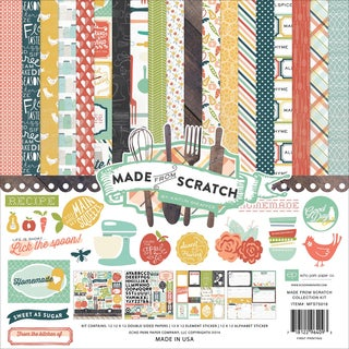 "Echo Park Collection Kit 12""X12""-Made From Scratch"