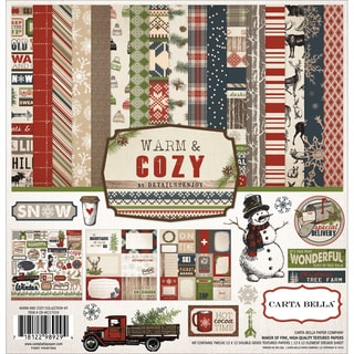 "Carta Bella Collection Kit 12""X12""-Warm & Cozy"