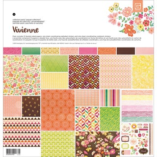 "Basic Grey Collection Pack 12""X12""-Vivienne"