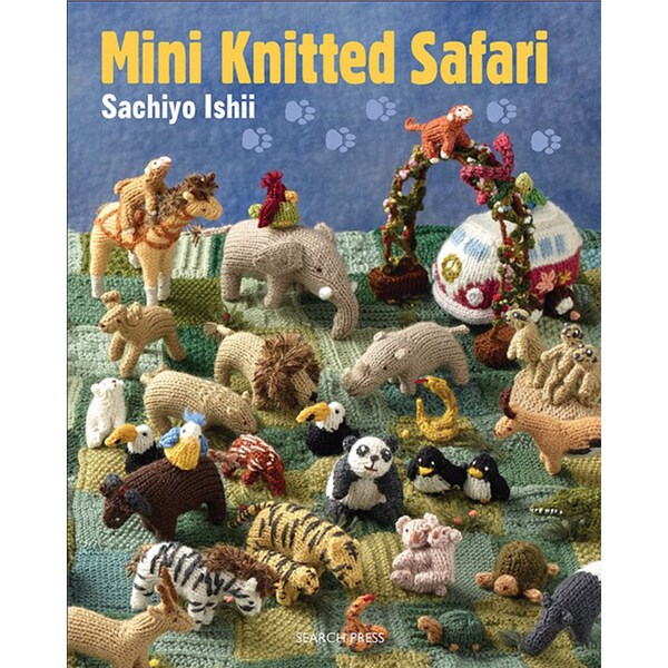 Search Press Books-Mini Knitted Safari