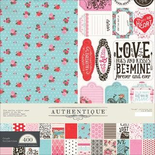 "Authentique Collection Kit 12""X12""-Crush"