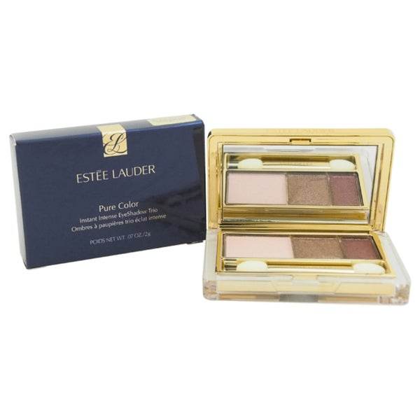 Estee Lauder Pure Color Instant Intense Eyeshadow Trio # 08 Sterling Plums