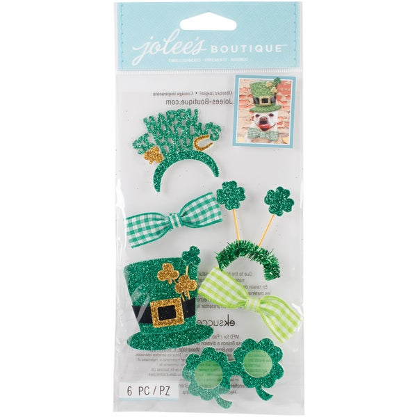 Jolee's Boutique Dimensional Stickers-St. Patrick's Day Dress Up