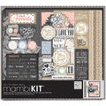 "Me & My Big Ideas Boxed Album Kit 12""X12""-Lacey Charm"
